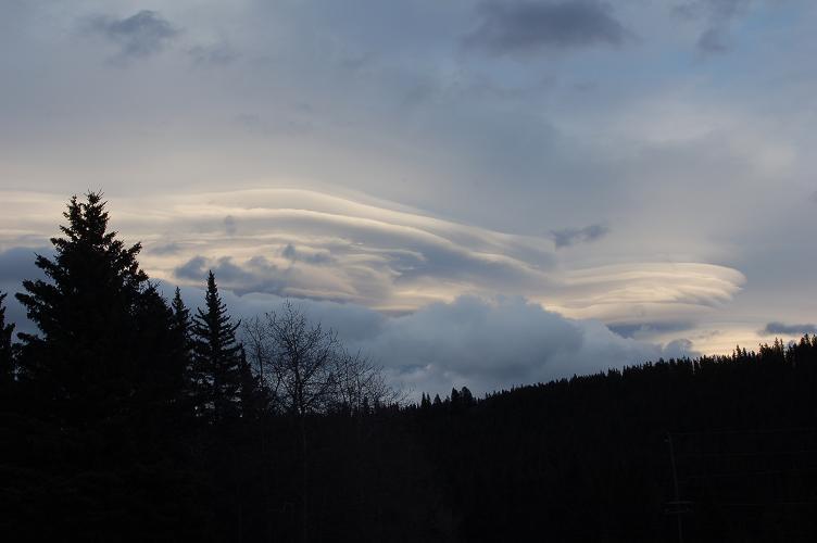 Cloud Blowing Wind