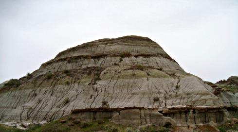 Dinosaur Provincial Park Badlands in Alberta
