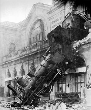 That famous French train wreck.