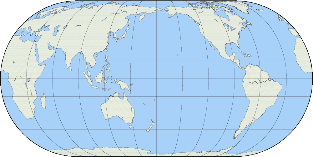 World Map Latitude Longitude
