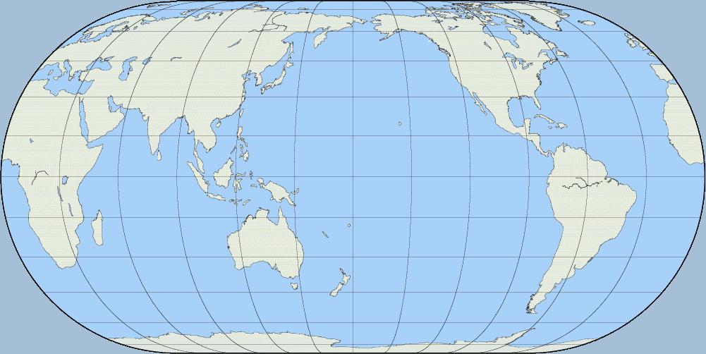 World Map Latitude Longitude