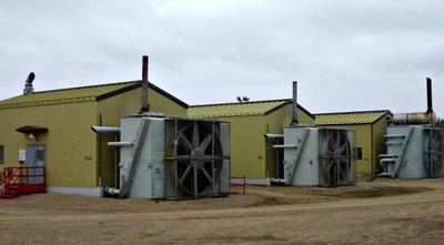 Industrial Activity on Site
