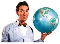 For those who think the world<br>of Bill Nye