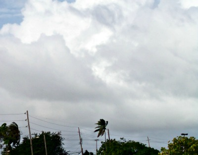 Waitin' for a cloud burst