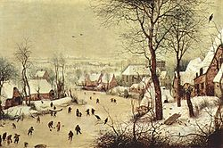 Winter Landscape with a Bird Trap
