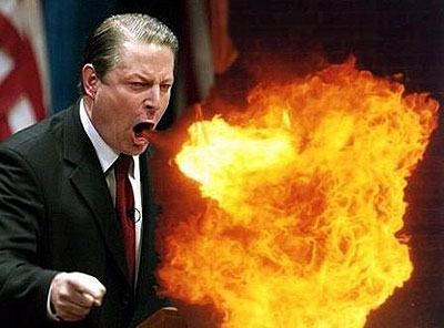 What is Al Gore full of?