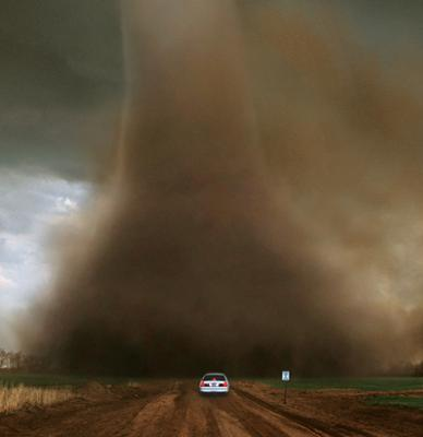 Real life twister