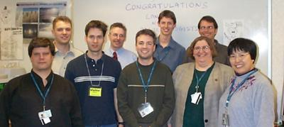 Barry's Old Meteorology Class - 2002  (I'm on the far left)