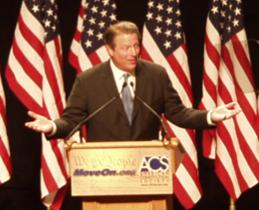 Al Gore does...