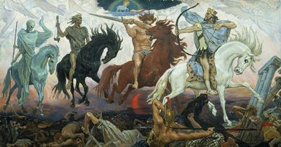 The horsemen are coming!