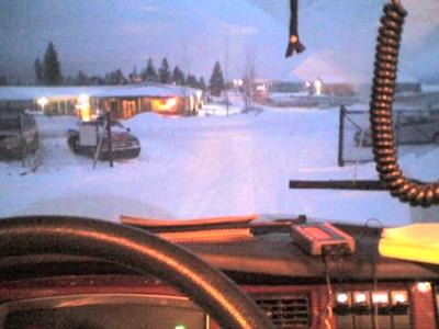Front Seat in the winter