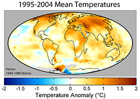 Global Warming Anomalies