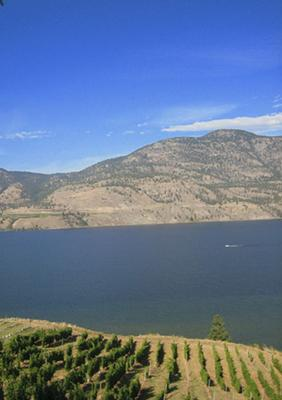 Sunny Okanagan Valley in British Columbia