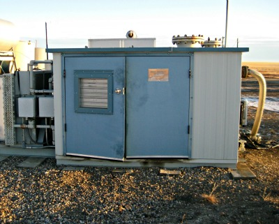 Example of a Drainage Pumping Station