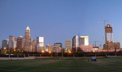 Charlotte before the snowstorm.